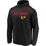 NHL Men's Chicago Blackhawks Authentic Pro Transitional Black Pullover Hoodie