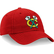 NHL Men's Chicago Blackhawks Core Red Adjustable Hat
