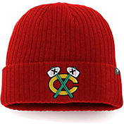 NHL Men's Chicago Blackhawks Core Knit Beanie
