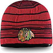 NHL Men's Chicago Blackhawks Iconic Knit Beanie