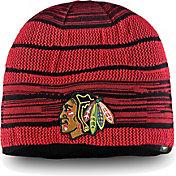 NHL Men's Chicago Blackhawks Iconic Knit Beanie