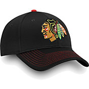NHL Men's Chicago Blackhawks Depth Alpha Red Adjustable Hat