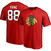 NHL Men's Chicago Blackhawks Patrick Kane #88 Red Player T-Shirt