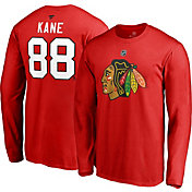 9ecede1a97d Product Image · NHL Men's Chicago Blackhawks Patrick Kane #88 Red Long  Sleeve Player Shirt