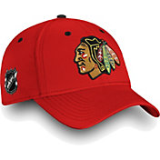 NHL Men's Chicago Blackhawks Authentic Pro Rinkside Speed Red Flex Hat