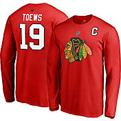 ce1c3c00489 Product Image · NHL Men's Chicago Blackhawks Jonathan Toews #19 Red Long  Sleeve Player Shirt