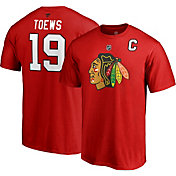NHL Men's Chicago Blackhawks Jonathan Toews #19 Red Player T-Shirt