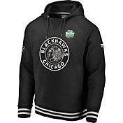 NHL Men's 2019 Winter Classic Chicago Blackhawks Authentic Pro Black Hoodie