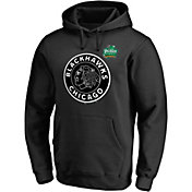 NHL Men's 2019 Winter Classic Chicago Blackhawks Logo Black Sweatshirt