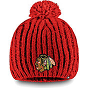 NHL Women's Chicago Blackhawks Iconic Knit Beanie