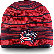 NHL Men's Columbus Blue Jackets Iconic Knit Beanie