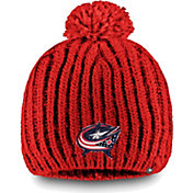 NHL Women's Columbus Blue Jackets Iconic Knit Beanie