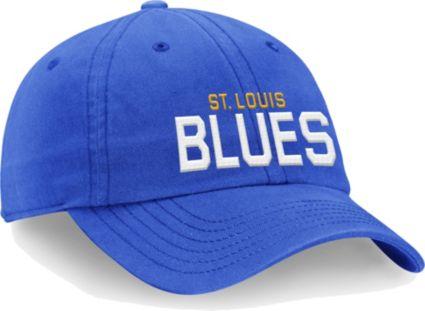 new arrivals 3516b e86af ... new zealand nhl mens st. louis blues core blue adjustable hat 2814a  5ac5f ...