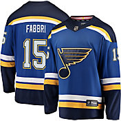 NHL Men's St. Louis Blues Robby Fabbri #15 Breakaway Home Replica Jersey