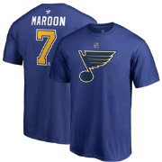 NHL Men's St. Louis Blues Patrick Maroon #7 Royal Player T-Shirt