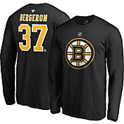Product Image · NHL Men s Boston Bruins Patrice Bergeron  37 Black Long  Sleeve Player Shirt 6de4dccc2