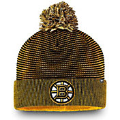 NHL Men's Boston Bruins Waffle Knit Beanie