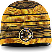 NHL Men's Boston Bruins Iconic Knit Beanie