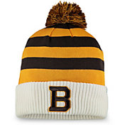 NHL Men's 2019 Winter Classic Boston Bruins Gold Pom Knit Beanie