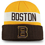 NHL Men's 2019 Winter Classic Boston Bruins Gold Cuffed Knit Beanie