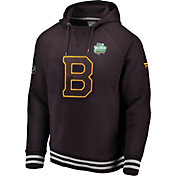 NHL Men's 2019 Winter Classic Boston Bruins Authentic Pro Brown Hoodie
