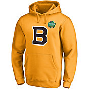 NHL Men's 2019 Winter Classic Boston Bruins Logo Gold Sweatshirt