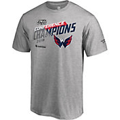 NHL Men's 2018 NHL Eastern Conference Champions Washington Capitals Logo Locker Room T-Shirt