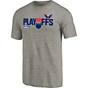 NHL Men's 2018 NHL Stanley Cup Playoffs Washington Capitals Grey T-Shirt