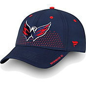NHL Men's Washington Capitals 2018 NHL Draft Structured Navy Flex Hat