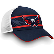 NHL Men's Washington Capitals Authentic Pro Second Season Navy Trucker Adjustable Hat