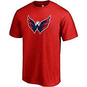 NHL Men's Washington Capitals Big Logo Red T-Shirt