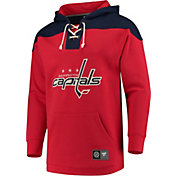 NHL Men's Washington Capitals Breakaway Red Pullover Sweatshirt