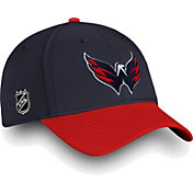 NHL Men's Washington Capitals Iconic Navy Flex Hat