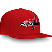 NHL Men's Washington Capitals Core Logo Red Snapback Adjustable Hat
