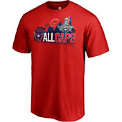 NHL Men's 2018 Stanley Cup Champions Washington Capitals Parade Red T-Shirt