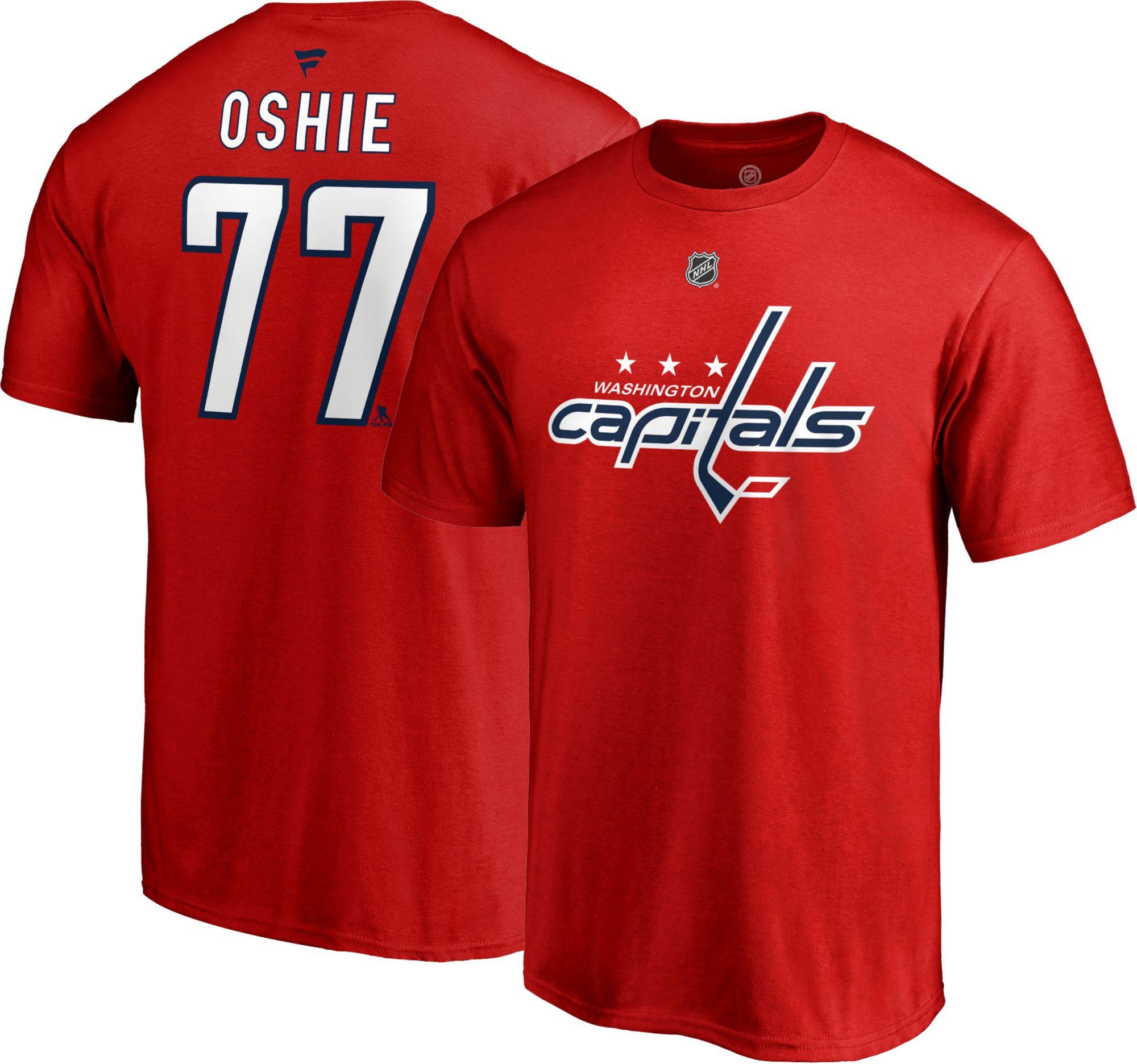 ... australia nhl mens washington capitals t.j. oshie 77 red player t shirt  39d53 b04ff d642bd017