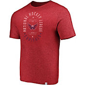 NHL Men's Washington Capitals Static Fade Red Long Sleeve Shirt
