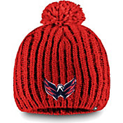 NHL Women's Washington Capitals Iconic Knit Beanie