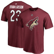 NHL Men's Arizona Coyotes Oliver Ekman-Larsson #23 Maroon Player T-Shirt
