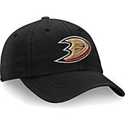 NHL Men's Anaheim Ducks Core Black Adjustable Hat