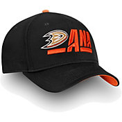 NHL Men's Anaheim Ducks Authentic Pro Rinkside Alpha Black Adjustable Hat