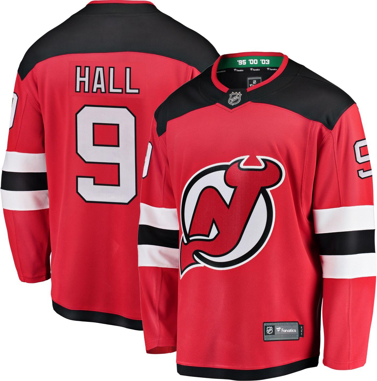 NHL Men's New Jersey Devils Tayor Hall #9 Breakaway Home Replica Jersey