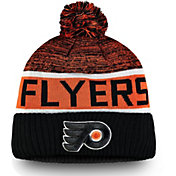 NHL Men's Philadelphia Flyers Authentic Pro Rinkside Goalie Black Cuffed Knit Beanie