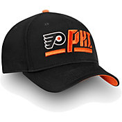NHL Men's Philadelphia Flyers Authentic Pro Rinkside Alpha Black Adjustable Hat
