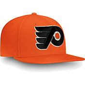 NHL Men's Philadelphia Flyers Core Logo Orange Snapback Adjustable Hat