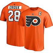 NHL Men's Philadelphia Flyers Claude Giroux #28 Orange Player T-Shirt