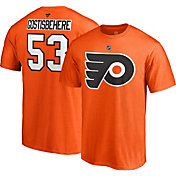 NHL Men's Philadelphia Flyers Shayne Gostisbehere #53 Orange Player T-Shirt