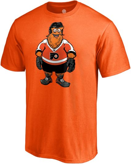 NHL Men s Philadelphia Flyers Gritty Mascot Orange T-Shirt. noImageFound bde40f55e