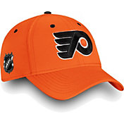 NHL Men's Philadelphia Flyers Authentic Pro Rinkside Speed Orange Flex Hat