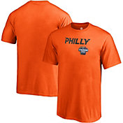 NHL Men's 2019 Stadium Series Philadelphia Flyers Logo Orange T-Shirt
